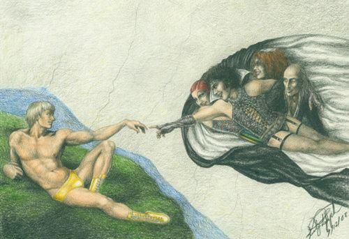 The Creation of Adam/The Rocky Horror Picture Show