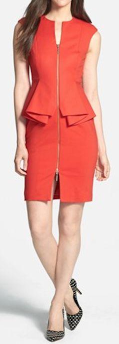 peplum cotton blend sheath dress  http://rstyle.me/n/px666pdpe