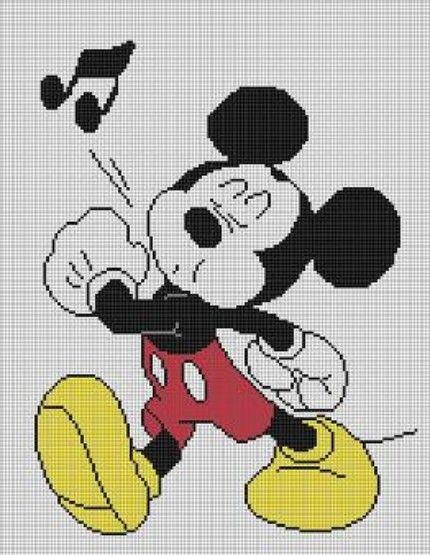 Free Disney Crochet Graph Patterns : Free Mickey Mouse Afghan Patterns CROCHET PATTERNS ...