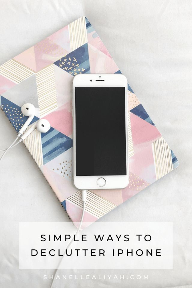 Simple Ways to Declutter iPhone Me App, Phone Organization, Phone Hacks, Happy House, Declutter, Organize, Useful Life Hacks, Organizing Your Home, Clean House