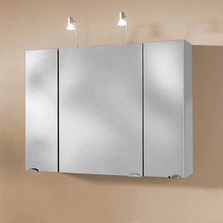 3D Bad Spiegelschrank in Weiß Beleuchtung Jetzt bestellen unter: https://moebel.ladendirekt.de/bad/badmoebel/badezimmerschraenke/?uid=86c8269c-4fce-5639-af71-1df2de79043d&utm_source=pinterest&utm_medium=pin&utm_campaign=boards #badezimmerkommode #bad #beistellschrank #spiegelschrank #badschrank #badmoebel #badspiegelschrank #spiegel #badeschrank #lichtspiegelschrank #badezimmerschraenke #badezimmerspiegelschrank #badezimmer