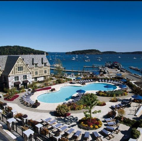 Harborside Hotel, Spa and Marina in Bar Harbor, Maine  Drive the coast during the summer and fall. BEST vacation yet!