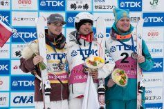 Mikaël Kingsbury wins silver and claims his seventh-straight Crystal Globe as the top moguls athlete on the World Cup tour....