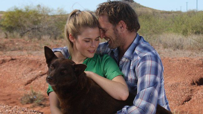 Movie Review | Red Dog   'You need to have a home to be homesick, mate!' A still from Red Dog starring Josh Lucas, Rachael Taylor and Koko, the dog.