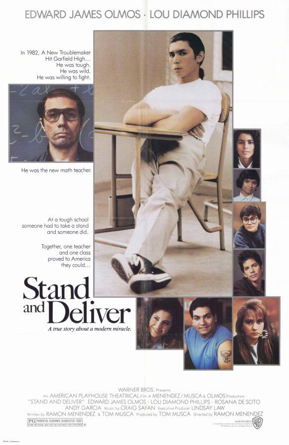 an analysis of the movie stand and deliver In the film stand and deliver commitment with little hesitation transformational leadership movie katie sanjurjo stand and deliver leadership analysis.