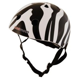 Čelada z zebrastim vzorcem