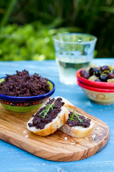 Olive Tapenade - a must have condiment for the summer - so easy and so versatile!