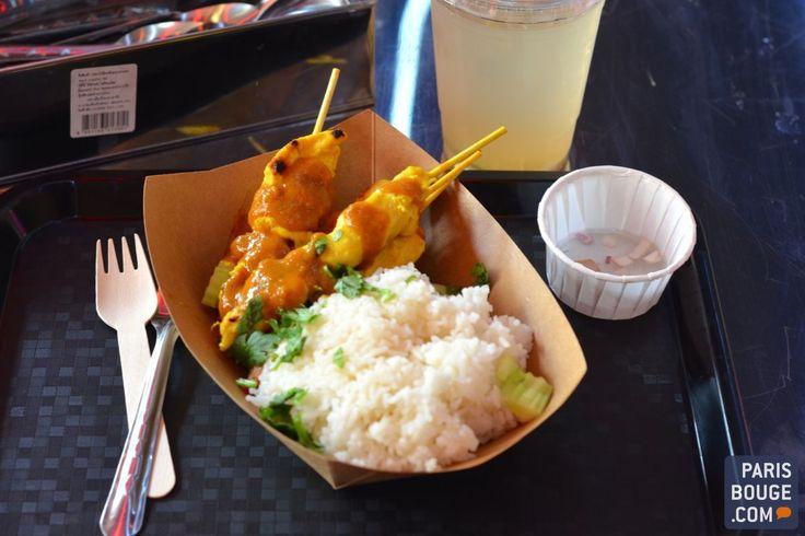 Street Bangkok - resto thaï Poulet satay & salade de porcs testés et approuvés