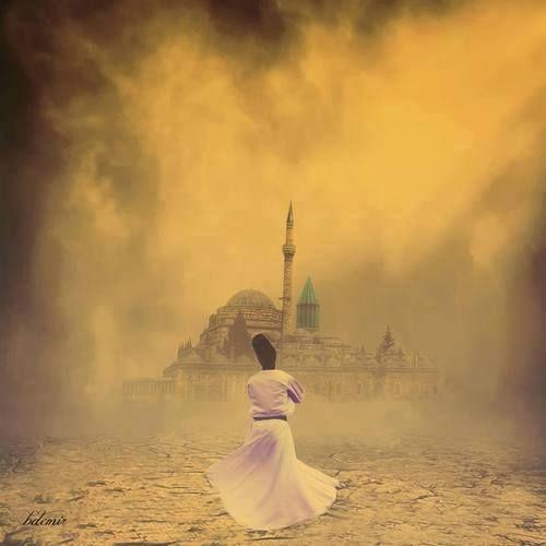 """""""Lo que pierdes a través de la carrera del destino, sé que fue para salvarte de la adversidad. Una pequeña aflicción mantiene fuera mayores aflicciones; una pequeña pérdida evita mayores pérdidas"""". Rosas del Jardín, Hz. Rumi."""