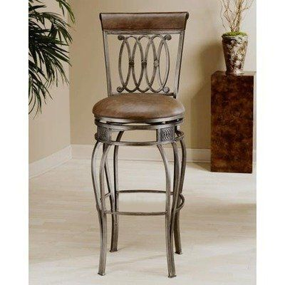 Easy Assembly Montello 24 Quot Swivel Counter Stool By