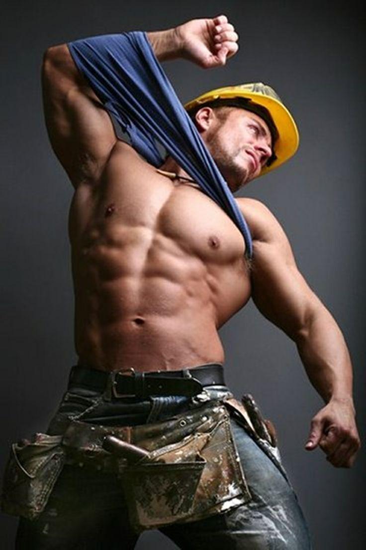 Fetish for construction men