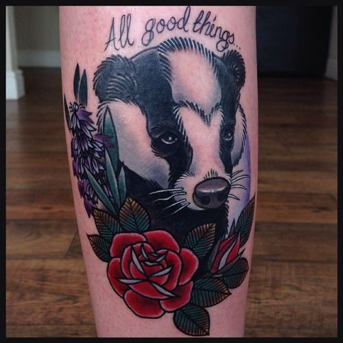 31 Best Tribal Badger Tattoo Images On Pinterest