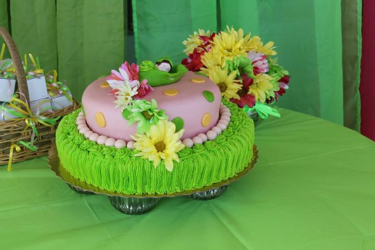 Cake Sweet Pea Baby Sower