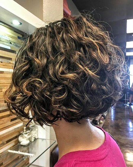 Kurzes Haar, lockig, Bob, Trends, Perm