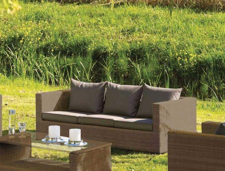 Die besten 25+ Lounge sofa outdoor Ideen auf Pinterest Outdoor - outdoor mobel set tribu