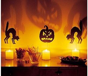 Siluetas Terroríficas de Halloween   Descargables Gratis para Imprimir: Paper toys, Origami, tarjetas de Cumpleaños, Maquetas, Manualidades, decoraciones fiestas, dibujos para colorear. Printable Freebies, paper and crafts