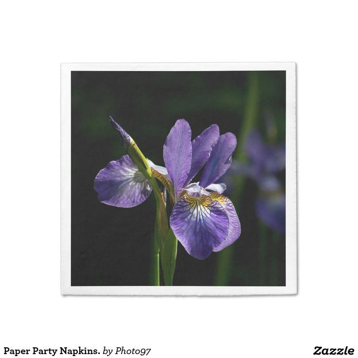 Paper Party Napkins. Paper Napkin