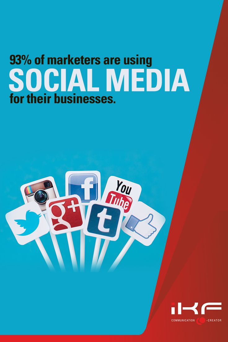 """According to the recent study by #B2B Magazine, #marketers overwhelmingly favor social media channels for their #business, out of which """"the big 3"""" platforms are – #LinkedIn, #Facebook and #Twitter. #TheIKFWay"""