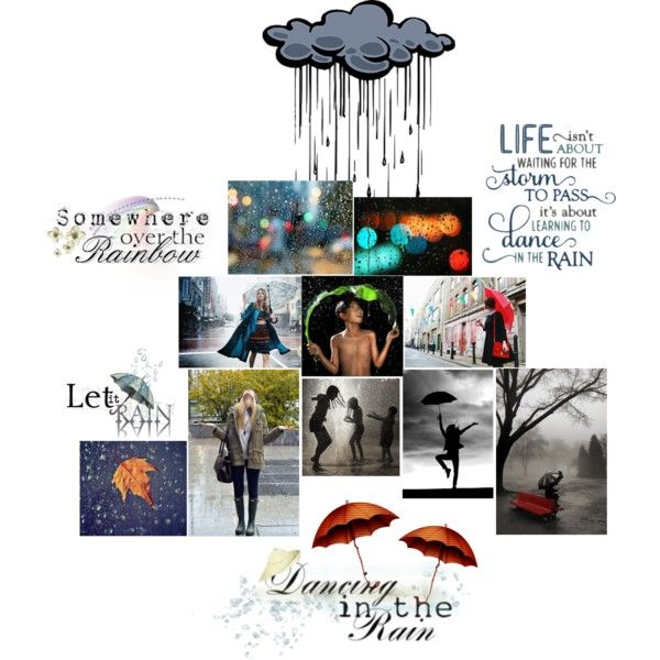 Rain - Quotes by farka-id on Polyvore featuring art