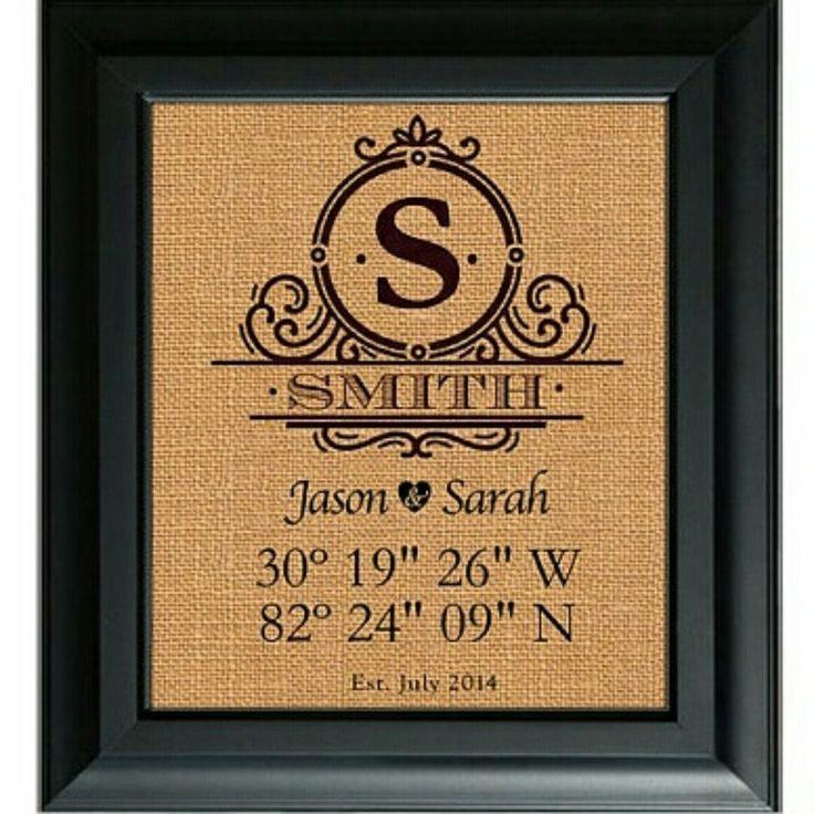 Latitude Longitude Sign   House Warming Gift   Bridal Shower Gift   Wedding Gift   New Home Housewarming Gift   GPS Coordinates