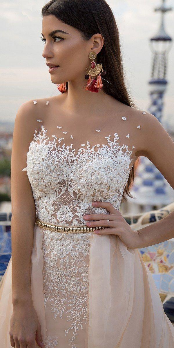 Milla Nova Bridal 2017 Wedding Dresses lina3 / http://www.deerpearlflowers.com/milla-nova-2017-wedding-dresses/4/