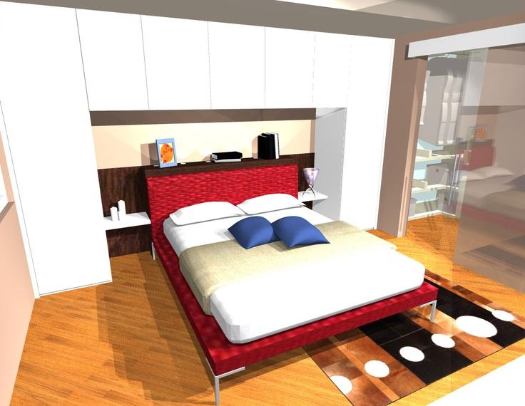 Oltre 1000 idee su camere con armadio su pinterest for Letto matrimoniale dimensioni ridotte