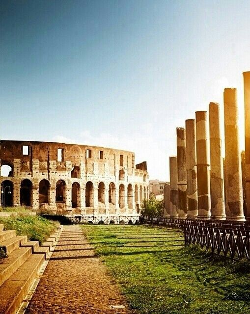 Colosseum and Forum Romanum, Rome. A must see.