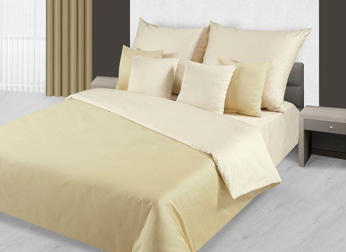 Bawełniana pościel w kolorze złotym