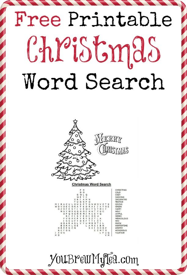 Ideas about christmas word search on pinterest wordprintable gifts