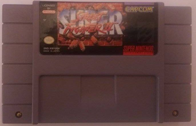 Super Street Fighter II: The New Challengers (SNES)