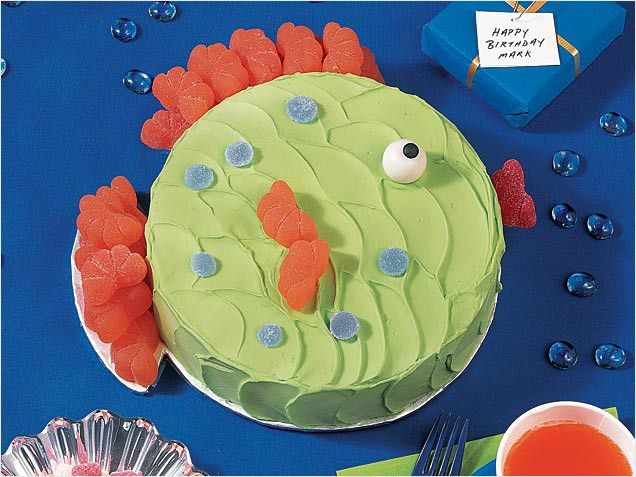 under the sea fish cake