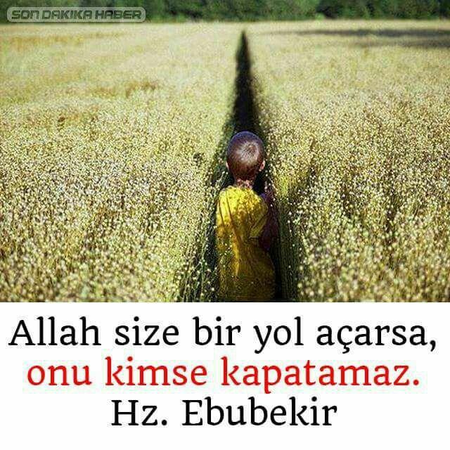 Allah size bir yol açarsa onu kimse kapatamaz.