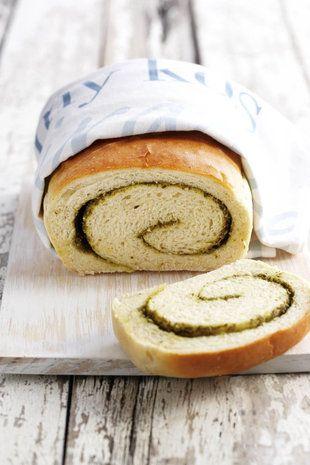 Basiliekruid-brood