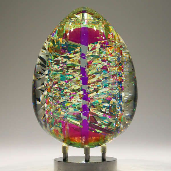 Fantastik Viviovo D Oro Glass Art Pictures Broken Glass Art