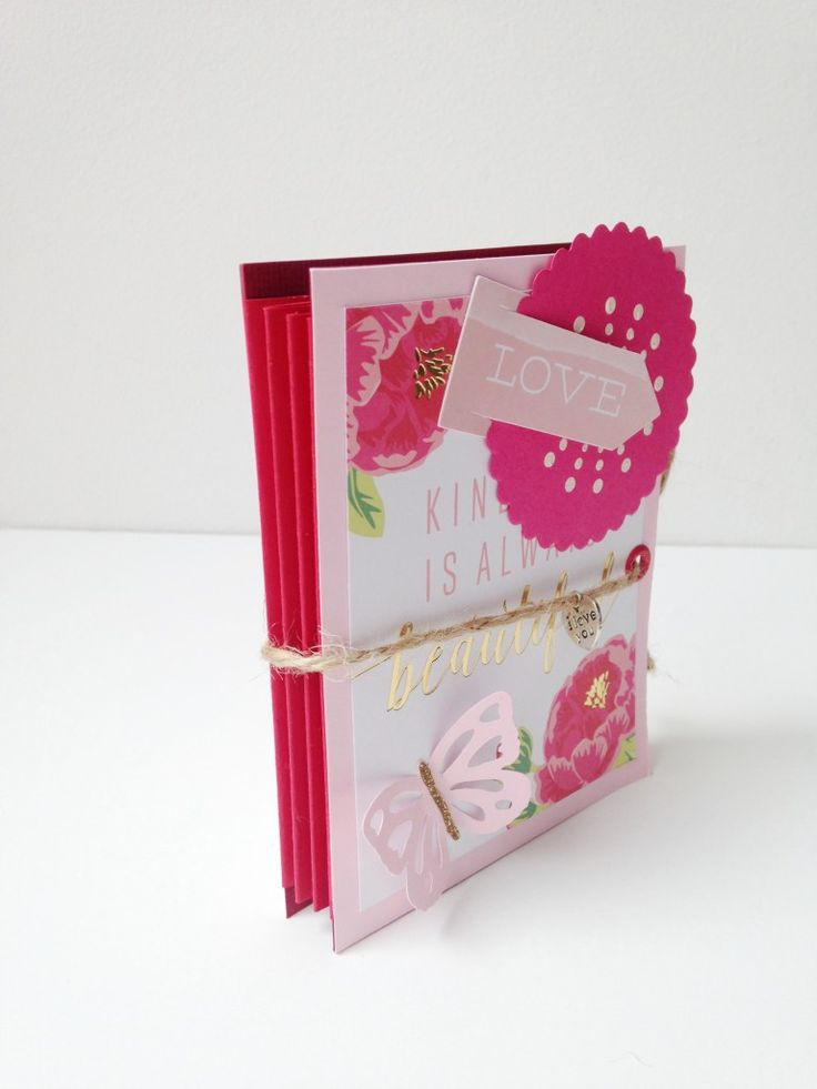 Tutorial Mini Album interior acordeón
