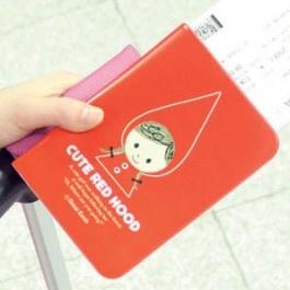 Cute Red Hood Passport holder SD_026