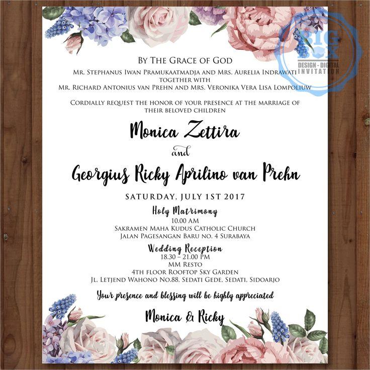 144 best wedding digital invitation images on pinterest invitations invitation reception card invitations stopboris Gallery