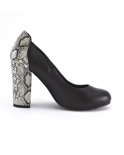 You do not choose shoes with animal prints all over it, if you just want it so so beastly you can choose these.