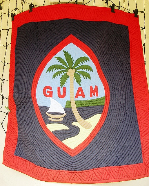 Guam quilt - I want one of these!!