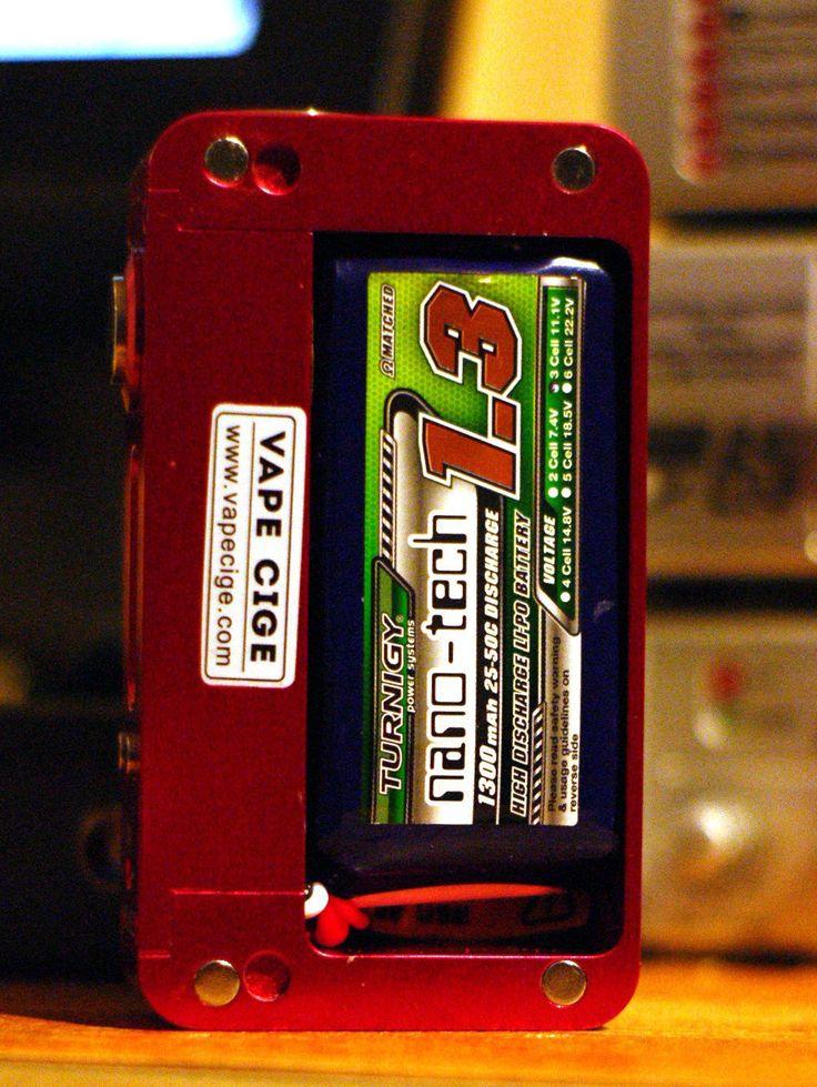 ULTIMATE VAPE MOD UPGRADE LIPO BATTERY THREE 1300mAh 11.1 V DNA 200 VT 200 EFUSION - http://www.vapestore.wupples.com/ultimate-vape-mod-upgrade-lipo-battery-3s-1300mah-11-1v-dna-200-vt-200-efusion/