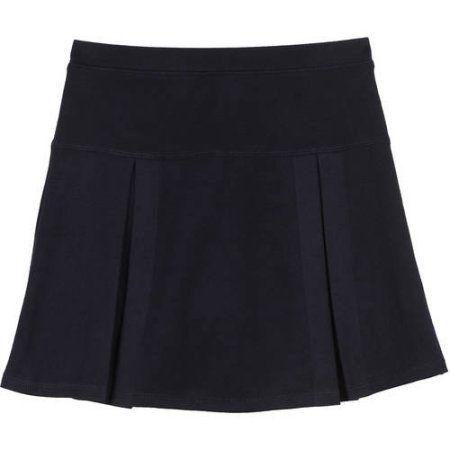 George Girls' School Uniform Performance Skirt, Blue