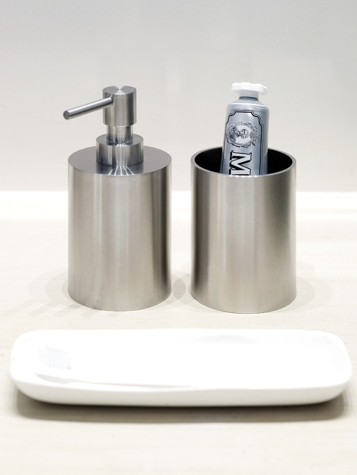 Bathware piet boon by formani soap dispenser free - Bathroom accessories soap dispenser ...