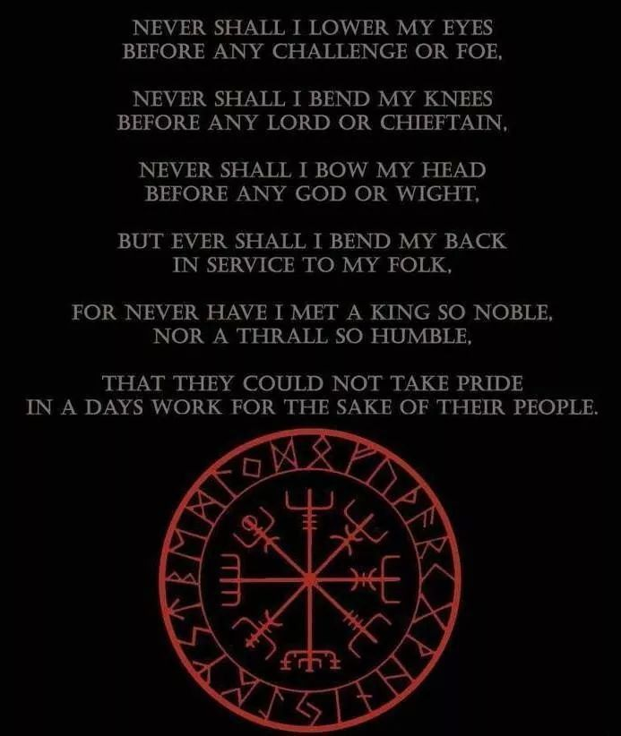 Viking poem