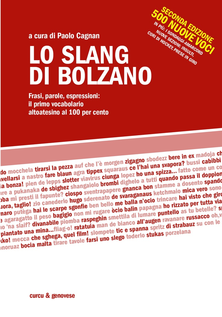 """Lo slang di Bolzano"""