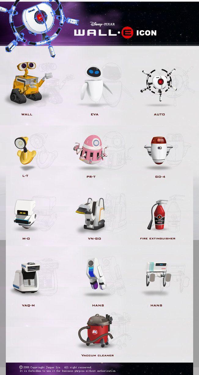 WALL E ICON   Wall e, Wall e costume, Wall e movie