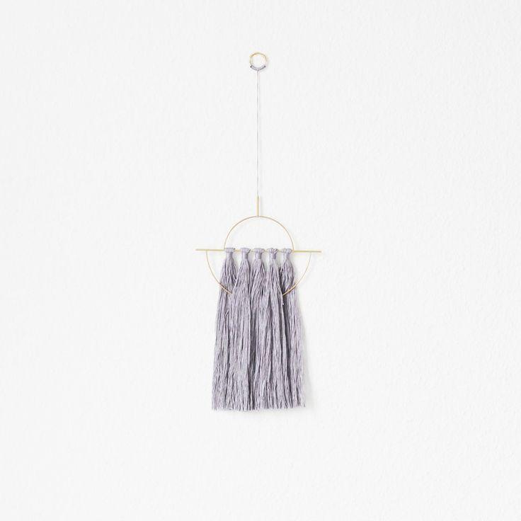 Arvak Wallhanger, V1 | Design  Brass, Twine, Wallhanging, Wall hanging, Nørkl