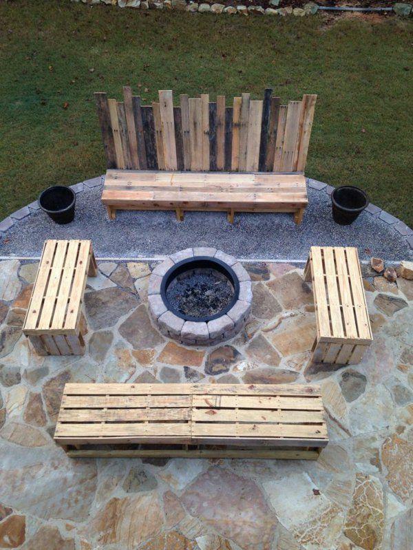 127 besten feuerstelle bauen bilder auf pinterest lagerfeuer feuerstellen und garten terrasse. Black Bedroom Furniture Sets. Home Design Ideas