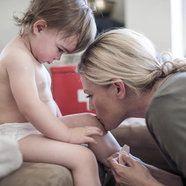 Curar heridas en niños