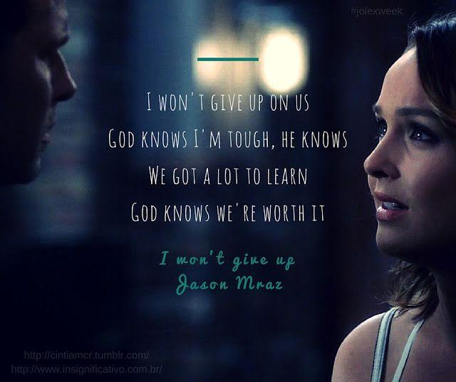 Grey's Anatomy 12x24 - Family Affair - Alex Karev (Justin Chambers) and Jo Wilson (Camilla Luddington)