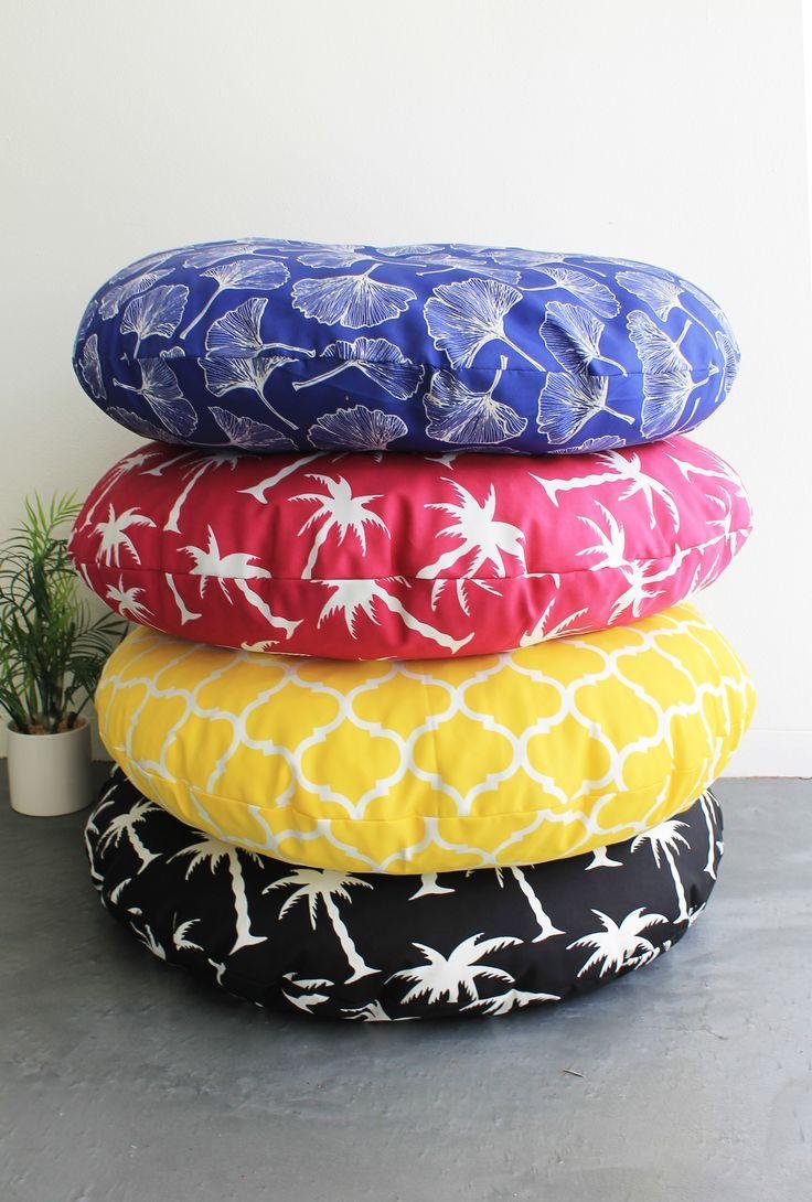 Easy Outdoor Floor cushions DIY tutorial — Capri Collective